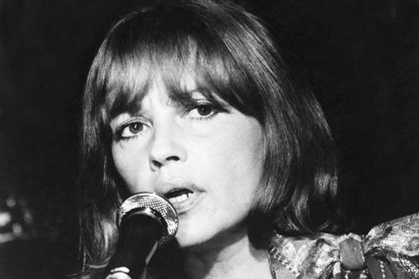 Jeanne Moreau chanteuse en 1970