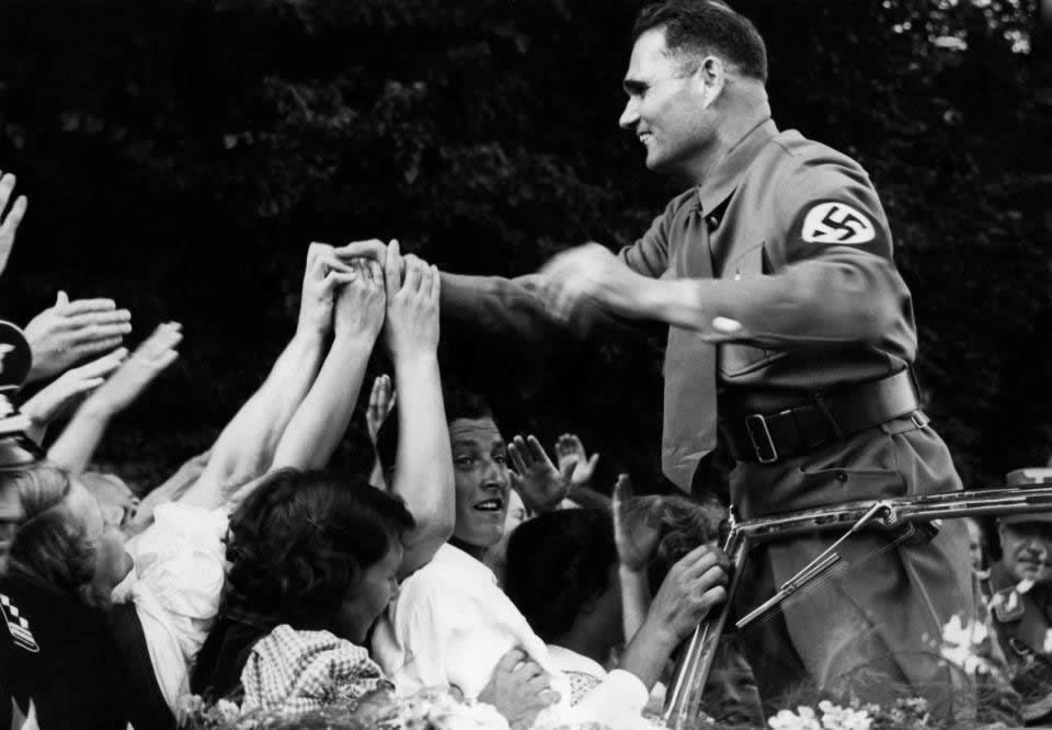 Deputy Fuehrer Rudolf Hess employed a personal astrologer so his horoscope was always on hand