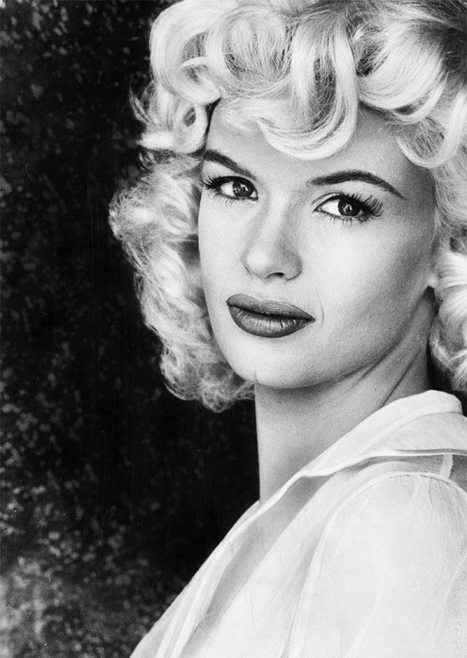 """I'm a goldfish. The way to beat it is to divorce my public self from who I am — to laugh at the performing me. Jayne Mansfield, the big star, is funny to me."" -- Jayne Mansfield -  Courtesy of the Tony Mansfield Collection"
