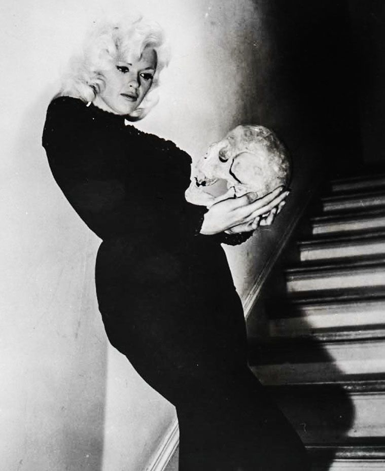 """More than anything, I want to play Hamlet, either on the stage or television."" -- Jayne Mansfield -  Courtesy of the Tony Mansfield Collection"