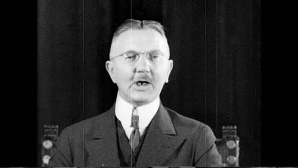Jew Chairman of Meeting