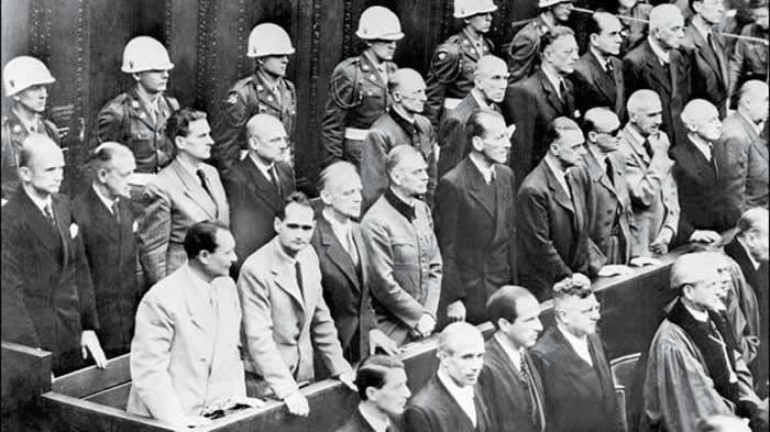 Nuremberg Verdict Will Protect Jews Only in Time of War and in Conquered Lands Allie