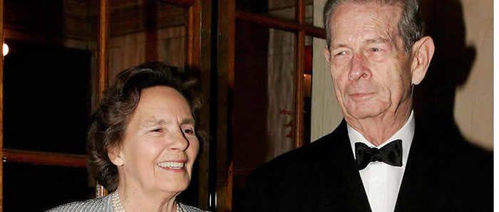 Le roi Michel de Roumanie (ici en 2004) avait annoncé en mars 2016 son retrait de la vie publique au profit de sa fille aînée Margareta. Niviere/SIPA / SIPA/