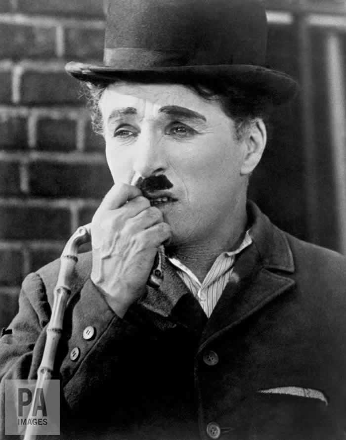 Charlie Chaplin as The Tramp. PA/PA Archive/PA Images