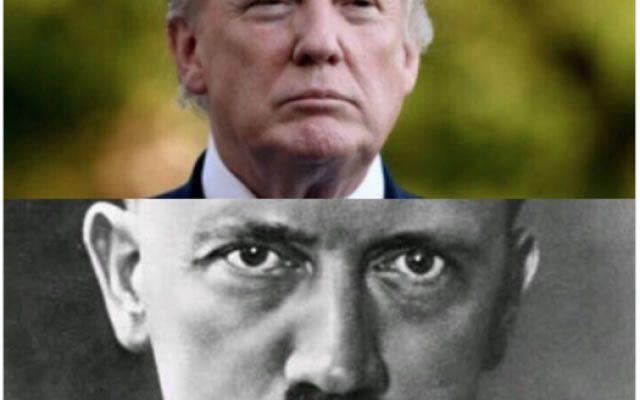 Le tweet publié par le Fatah le 14 décembre 2017 compare le président américain Donald Trump à Adolf Hitler. (Capture d'écran sur Twitter)