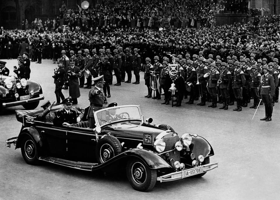It featured at a number of key Nazi parades