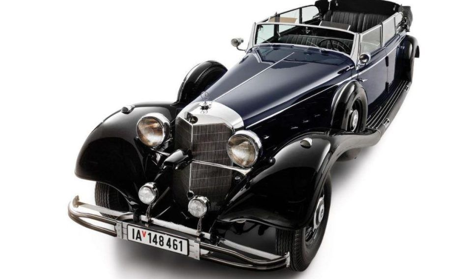 The Mercedes-Benz was used extensively during the Second World War by Hitler