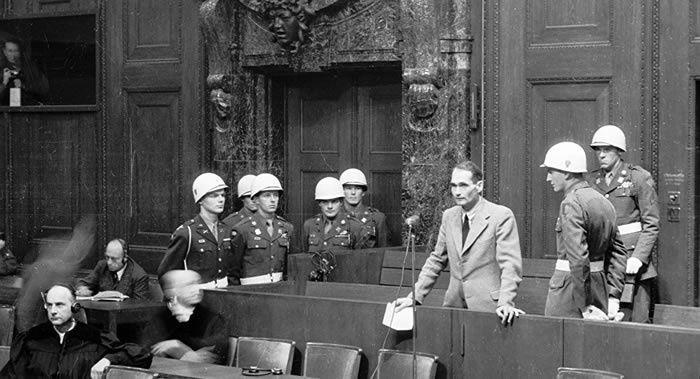 Nuremberg - Day 9 Hess