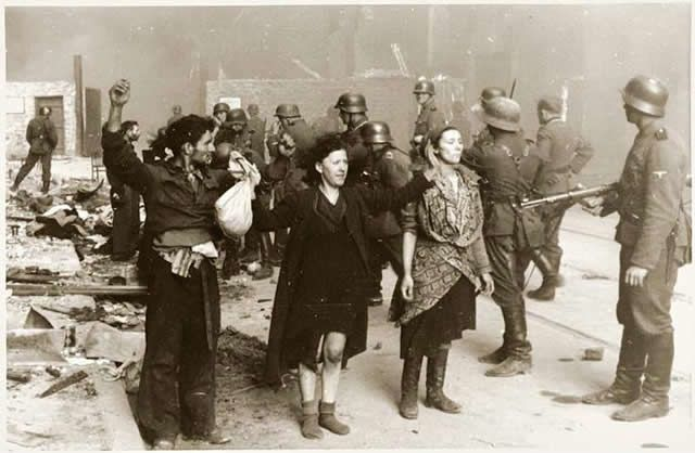 "Thousands of Jews Seized in Warsaw Ghetto for ""forced Labor"" Executed in Woods"
