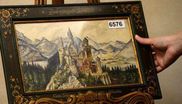 Le tableau de château de Neuschwanstein signé Adolf Hitler a été vendu 100.000 euros