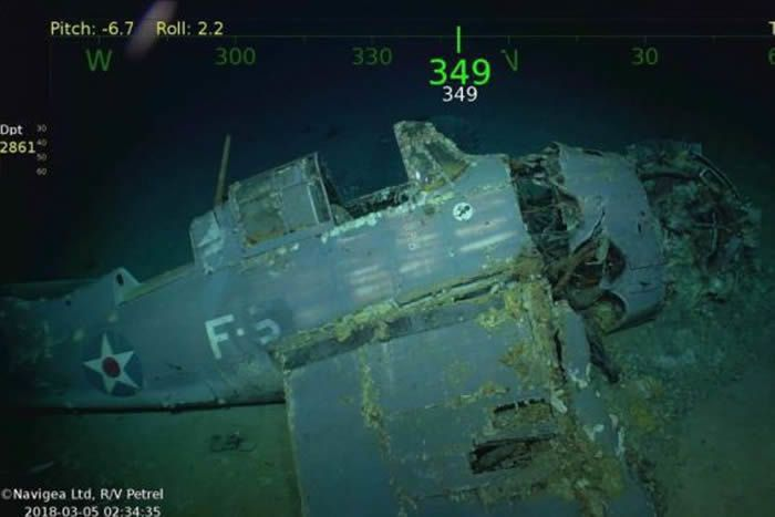 L'USS Lexington retrouvé au large de l'Australie