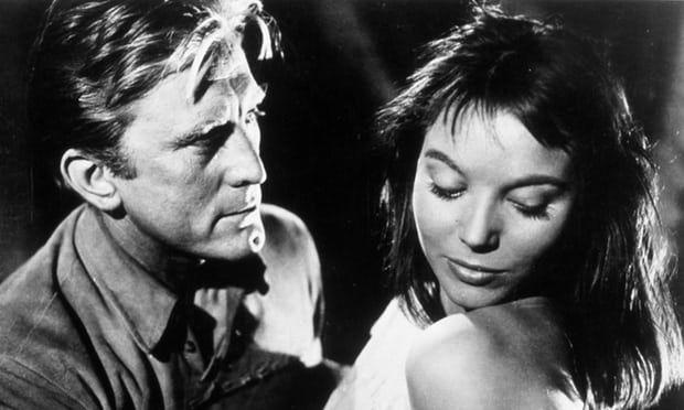 Elsa Martinelli with Kirk Douglas in the western The Indian Fighter, 1955. Photograph: Snap/Rex/Shutterstock