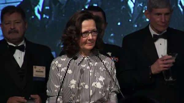 Gina Haspel en octobre 2017 à Washington. OOS Society / AFP