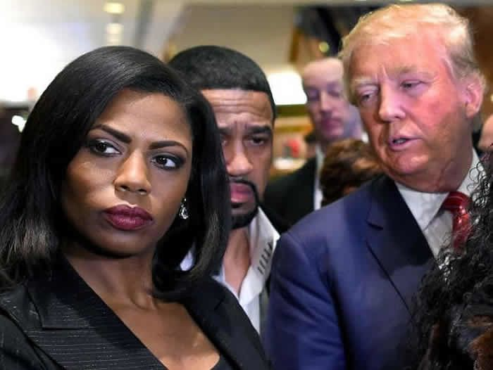 Donald Trump has continued to publicly attack Omarosa Manigault Newman since she left the White House. Picture: AFPSource:AFP