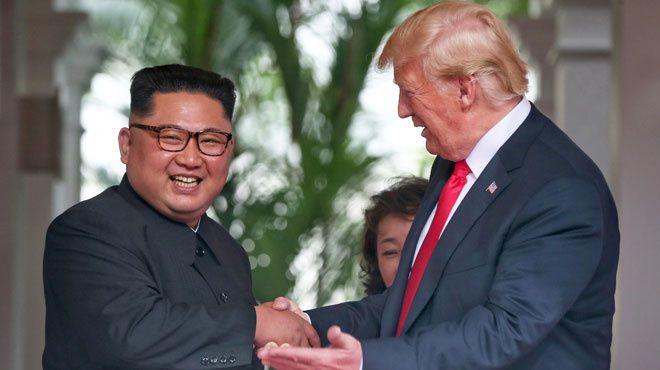 """""""On est tombé amoureux"""": l'improbable idylle entre Donald Trump et Kim Jong Un se poursuit"""