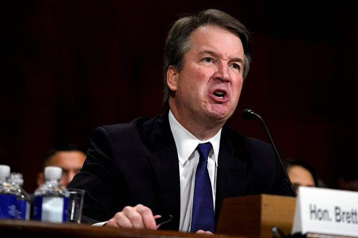 Brett Kavanaugh  PHOTO REUTERS