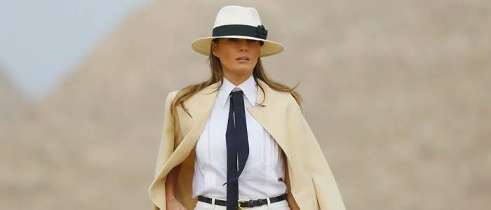 Melania Trump prend enfin ses distances avec son époux Donald Trump : les mots d'une femme libre en Egypte