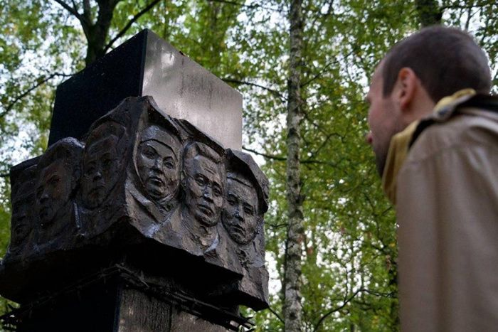 In Moscow, mass graves stalinist identified thanks to the Luftwaffe