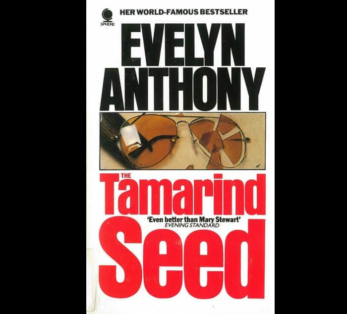 The Tamarind Seed by Evelyn Anthony was published in 1971