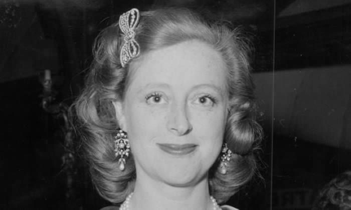 Evelyn Anthony in 1961. On top of her success as a writer, she also became the first female High Sheriff of Essex in 700 years, of which she was justly proud. Photograph: ANL/Rex/Shutterstock