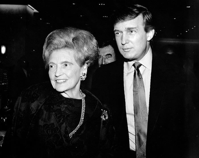 Donald Trump's mother, Mary, was an immigrant. But Trump doesn't often bring up his Scottish ancestry on the campaign trail. Photograph by Marina Garnier / NYP Holdings, Inc. via Getty