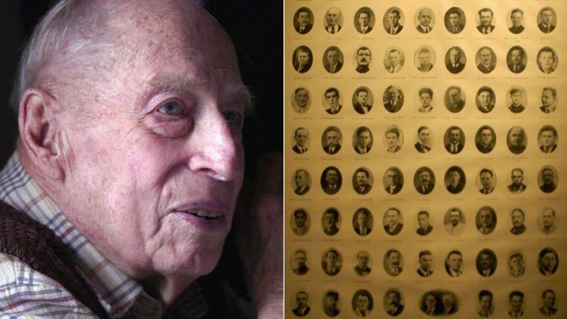 L'ancien SS et ses victimes françaises du massacre d'Ascq d'avril 1944. / NDR / MaxPPP