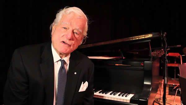 Le monde musical souligne la contribution du pianiste Tommy Banks au jazz. Photo: Centre national de musique/YouTube
