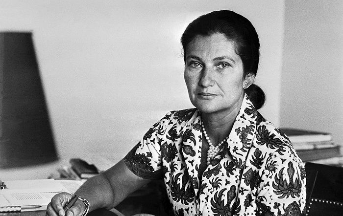 Undated picture for French Minister for Health Simone Veil. — AFP