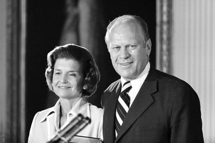 Gerald et Betty Ford
