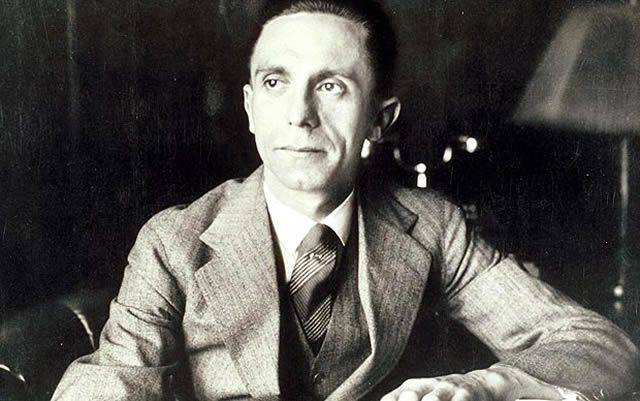 Goebbels Warns Against Terrorism