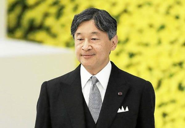 L'empereur du Japon, Naruhito. (Kiyoshi Ota/EPA)  Le Télégramme