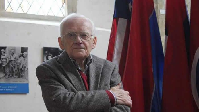 Jean Mignon, ancien guide de la chapelle de la Madeleine et « mémoire de Saint-Lô », s'est éteint à l'âge de 89 ans. | ARCHIVES