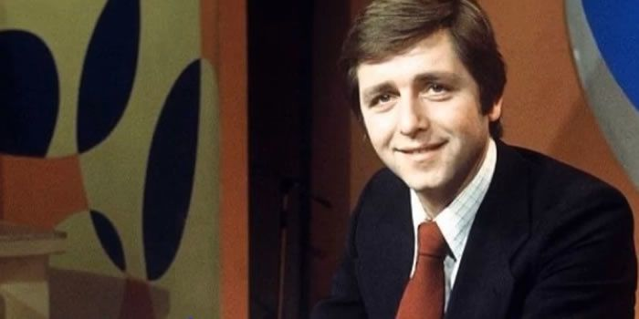"""L'animateur star des années 70 Bernard Golay présentait """"La une est à vous"""" sur TF1. Capture d'écran Youtube"""