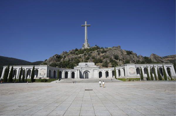 """Le """"Valle de los Caidos"""", près de Madrid, où se trouve la tombe de Franco. © Jose L. Cuesta/CORDON/SIPA"""