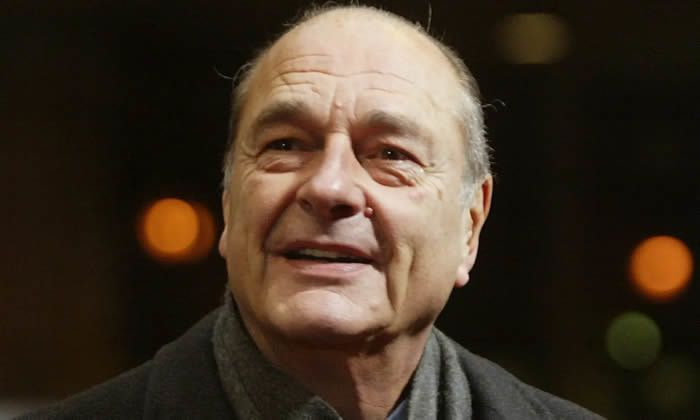 Jacques Chirac in Brussels in 2004. Photograph: Olivier Hoslet/EPA