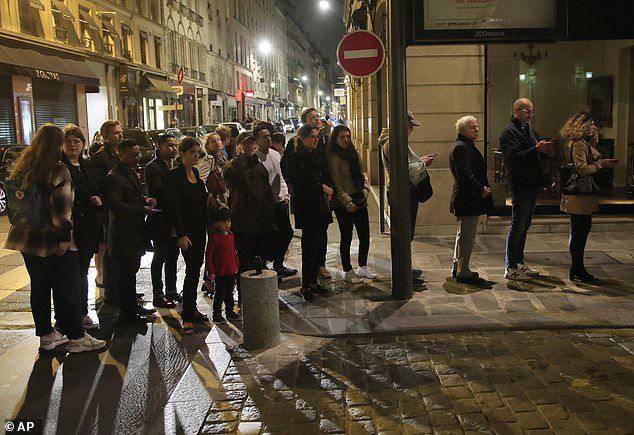 Parisians queued around the block to pay tribute to Chirac at the Elysee Palace