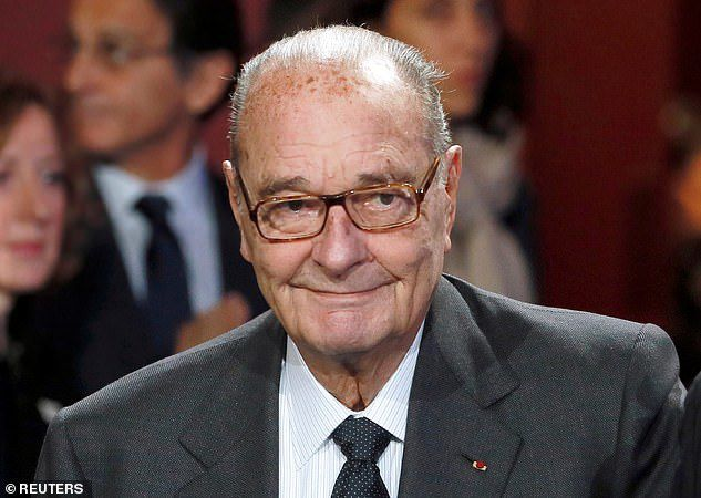 Chirac in Paris in 2014. He had suffered a series of health problems in recent years
