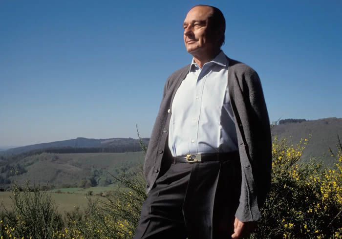 Jacques Chirac in 1991. Photograph: Roger-Viollet/REX/Shutterstock