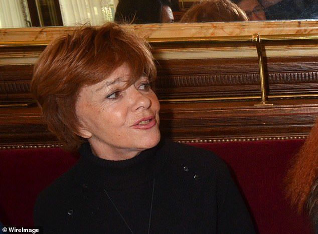 Journalist Jacqueline Chabridon (pictured in 2012) is widely rumoured to have had a relationship with Chirac in the 1970s when he was Prime Minister