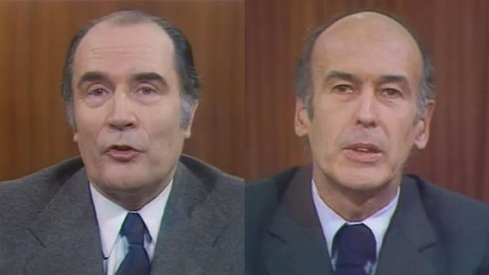 Giscard d'Estaing Valéry et François Mitterrand