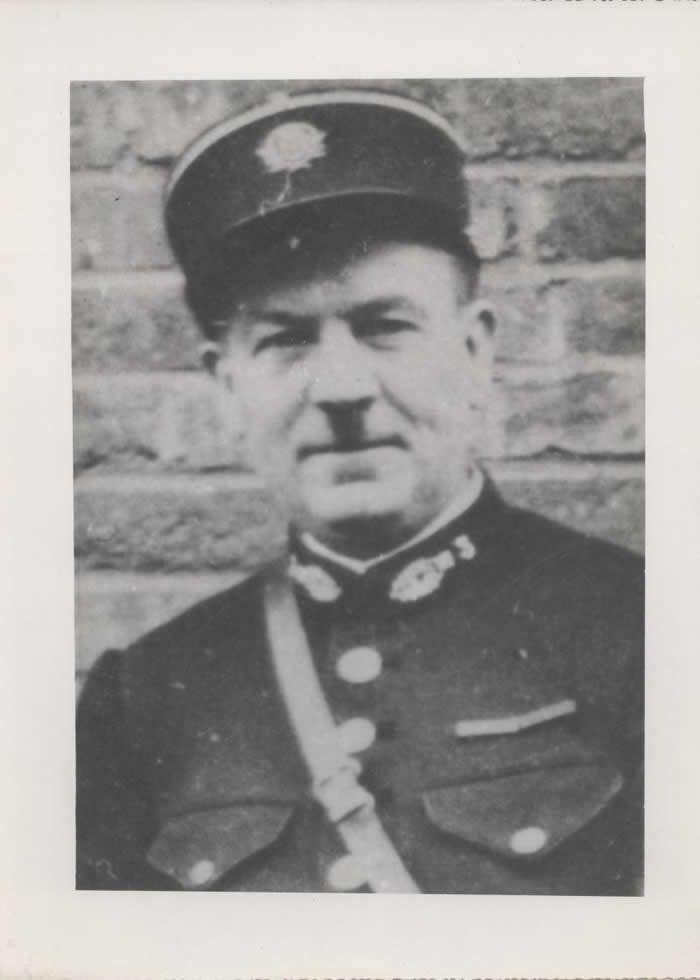 Louis Leroy était en service le 24 mai 1940 quand les premières bombes sont tombées rue du Nord, tuant près de 50 civils et lui avec.