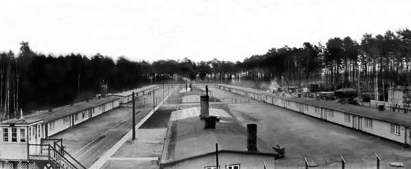 The Nazi's Stutthof concentration camp in Poland is seen in a 1941 file photo provided by the Stutthof Museum in Sztutowo, Poland. Stutthof Museum