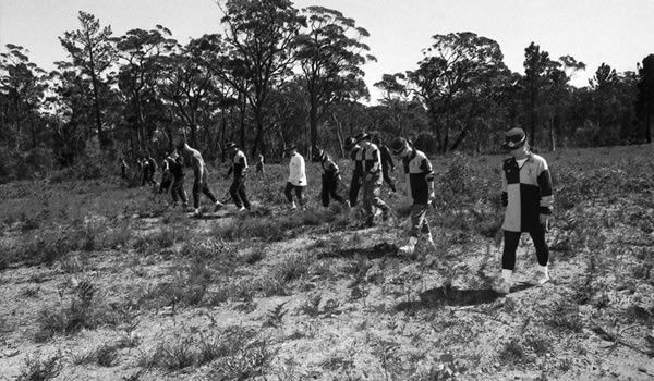 Ivan Milat's victims were discovered in makeshift graves in the 1990s. Pic: Fairfax Media via Getty Images/