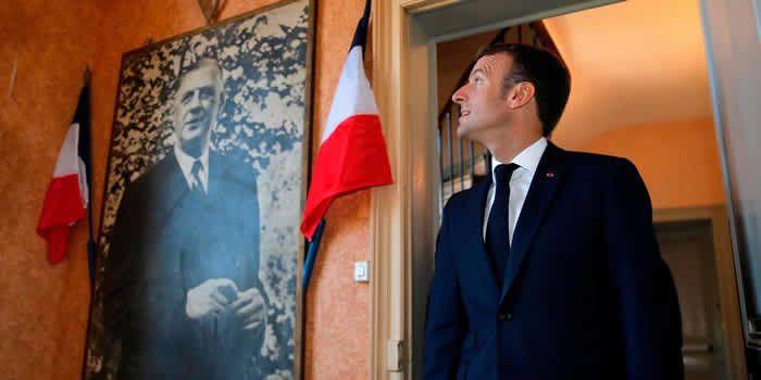 Après Clemenceau, Macron s'inspire du général de Gaulle