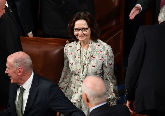 Gina Haspel (archive) Image: AFP