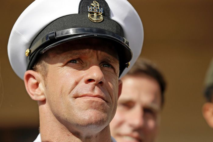 PHOTO GREGORY BULL, ARCHIVES ASSOCIATED PRESS  L'US Navy a annoncé mercredi l'ouverture d'une procédure interne pour décider notamment si Edward Gallagher peut rester au sein des Navy Seals.