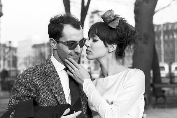 Godard Jean-Luc et Anna Karina
