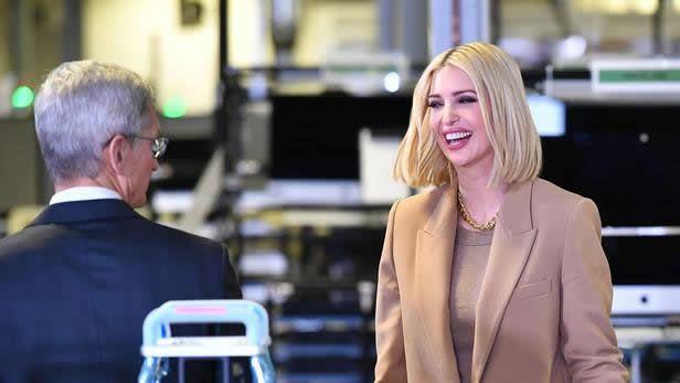 Ivanka Trump occupe une multitude de rôles au sein de la Maison-Blanche. MANDEL NGAN/AFP
