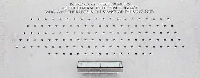 Memorial Wall de la CIA