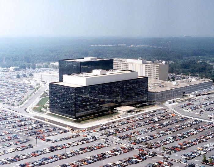 Quartier général de la NSA à Fort George G. Meade, Maryland, États-Unis.